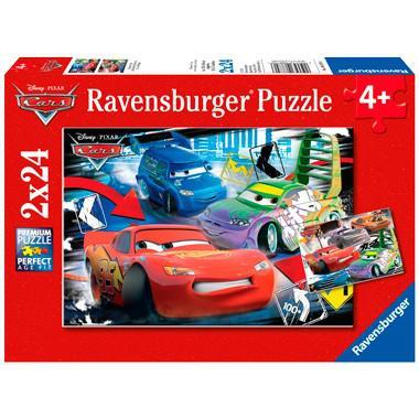 Ravensburger kinderpuzzel Disney cars 24 stukjes vanaf 4 jaar