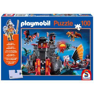 Schmidt playmobil puzzel Asian Dragon Land 100 stukjes vanaf 5 j