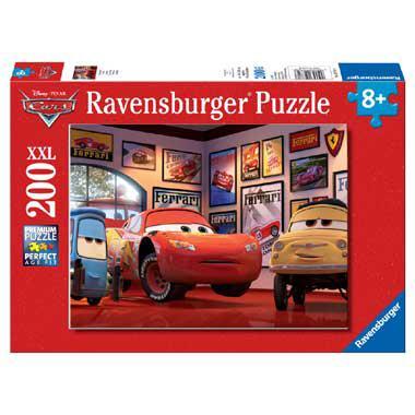 Ravensburger XXL puzzel Cars Bliksem McQueen 200 stukjes vanaf 8