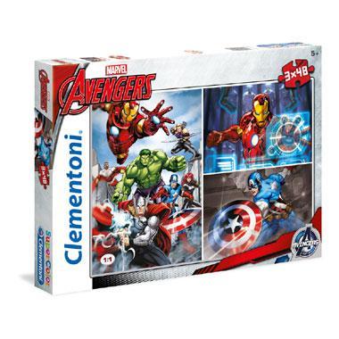 Clementoni Avengers puzzelset Marvel 48 stukjes vanaf 5 jaar