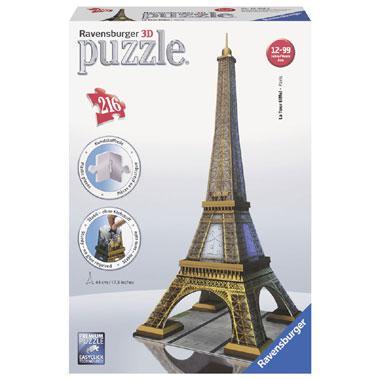 Ravensburger 3D puzzel Eiffeltoren 216 stukjes