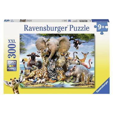 Ravensburger XXL puzzel Afrikaanse vrienden 300 stukjes vanaf 9