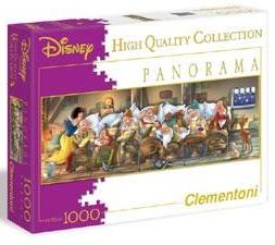 Clementoni puzzel Sneeuwwitje panorama 1000 stukjes vanaf 8 jaar