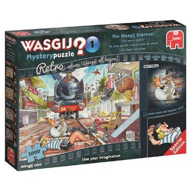 Jumbo Wasgij puzzel Mystery Retro Het spoor Bijster 1000 stukjes