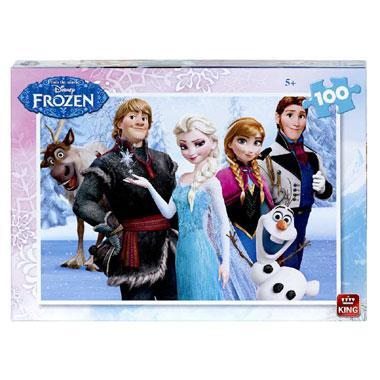 King Disney Frozen puzzel vanaf 5 jaar