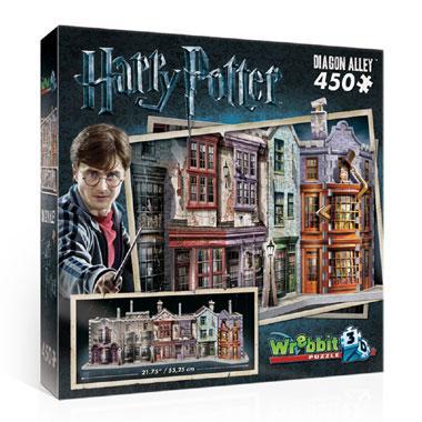 Wrebbit 3D puzzel Harry Potter Wegisweg 450 stukjes