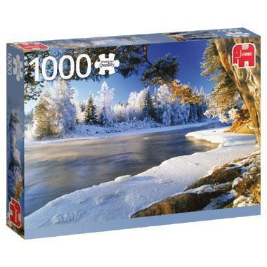 Jumbo puzzel Dalalven Zweden 1000 stukjes