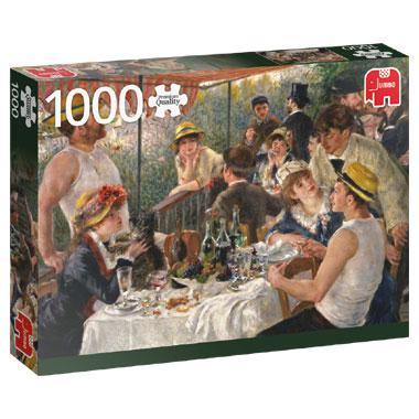 Jumbo puzzel PierreAuguste Renoir De lunch van de roeiers