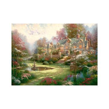 Puzzel Thomas Kinkade landgoed 2000 stukjes
