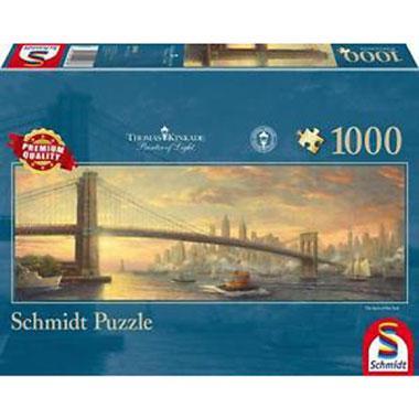 Panorama Kinkade puzzel New York 500 stukjes