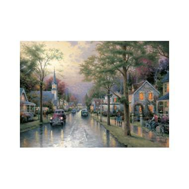 Puzzel Kinkade Hometown Morning 1000 stukjes
