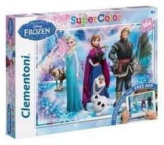Clementoni puzzel en app Disney Frozen vanaf 6 jaar