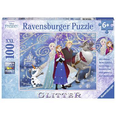 Ravensburger Disney Frozen puzzel Glinsterende sneeuw 100 stukje