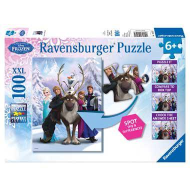 Ravensburger Disney Frozen Puzzel 100 stukjes vanaf 6 jaar