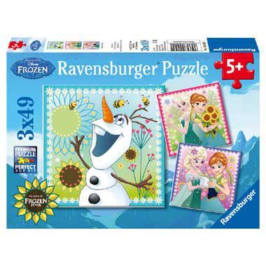 Ravensburger Disney puzzel Frozen Fever vanaf 5 jaar