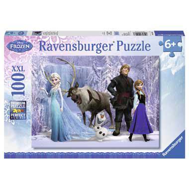 Ravensburger puzzel 100 XXL Frozen 100 stukjes