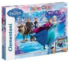 Clementoni puzzel en app Disney Frozen 60 stukjes