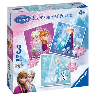 Ravensburger Disney Frozen Fever puzzelset vanaf 4 jaar