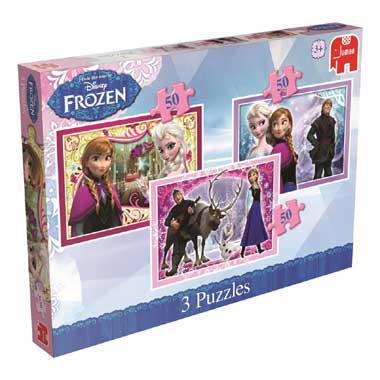 Jumbo Disney Frozen puzzelset 50 stukjes vanaf 3 jaar