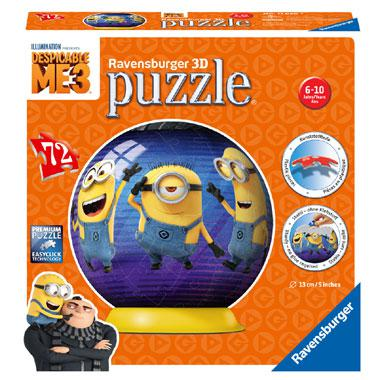 Ravensburger 3D puzzel Verschrikkelijke Ikke 72 stukjes vanaf 6