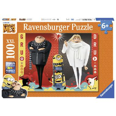 Ravensburger puzzel Verschrikkelijke Ikke 3 Gru Dru en de Minion