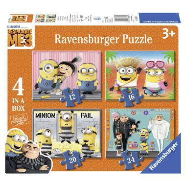 Ravensburger puzzelset Verschrikkelijke Ikke Minion Fail 49 stuk