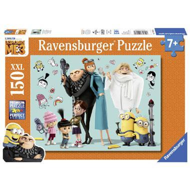 Ravensburger puzzel Verschrikkelijke Ikke Gru en zijn familie 15