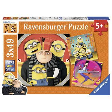 Ravensburger puzzelset Verschrikkelijke Ikke Chaos vanaf 5 jaar