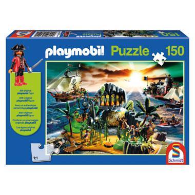 Schmidt Playmobil puzzel pirateneiland 150 stukjes vanaf 5 jaar