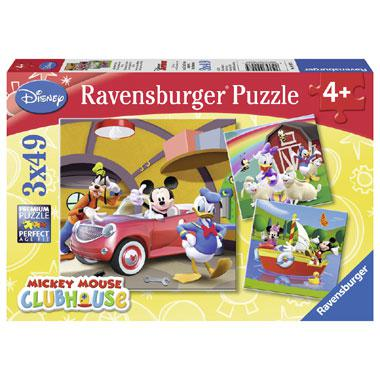 Ravensburger iedereen houdt van Mickey puzzels vanaf 4 jaar