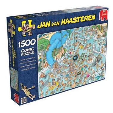 Jumbo Jan van Haasteren puzzel Tropisch Zwemparadijs 1500 stukje