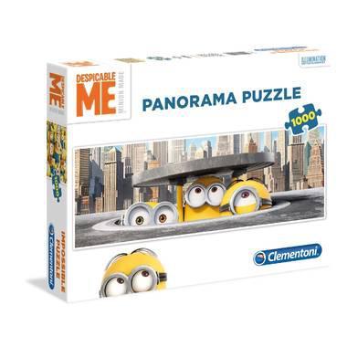 Clementoni Panorama puzzel Minions 1000 stukjes  stukjes voor pe