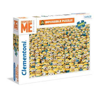 Clementoni puzzel de Minions 1000 stukjes 1000 stukjes