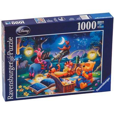 Winnie de Poeh sterrenkijken puzzel 1000 stukjes  stukjes voor p