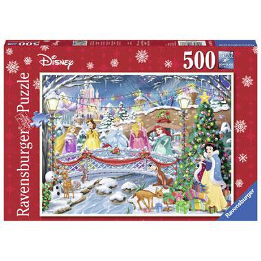 Ravensburger Disney puzzel kerstvieringen 500 stukjes