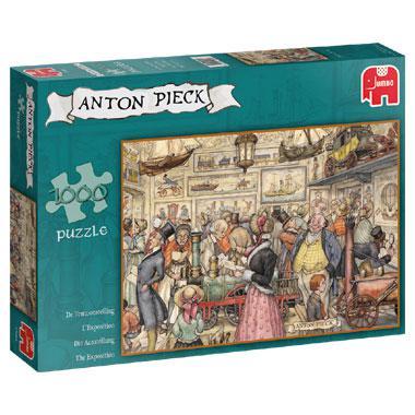 Jumbo puzzel Anton Pieck De Tentoonstelling