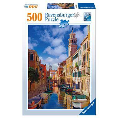 Ravensburger Venetie puzzel 500 stukjes vanaf 9 jaar