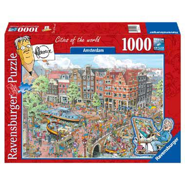 Ravensburger puzzel FlerouxCities of the world Amsterdam