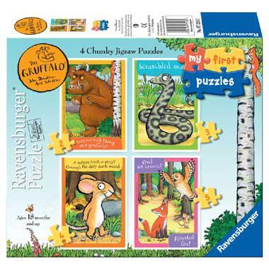Ravensburger Mijn eerste puzzels puzzelset The Gruffalo voor peu