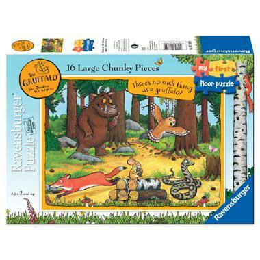 Ravensburger Mijn Eerste Puzzel Vloerpuzzel The Gruffalo vanaf 2