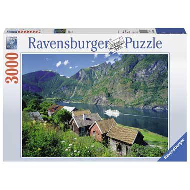 Ravensburger puzzel Sognefjord Noorwegen 3000 stukjes