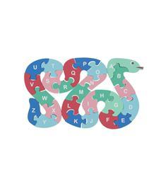 HEMA Houten Inlegpuzzel alfabet 26 stukjes vanaf 3 jaar