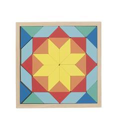 HEMA Houten Mozaiek Puzzel  stukjes voor peuters