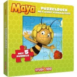 Studio100 puzzelboek Maya de Bij vanaf 3 jaar