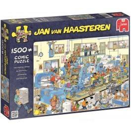 Jumbo Jan van Haasteren puzzel Kantoor 1500 stukjes