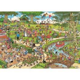 Jumbo Jan van Haasteren puzzel het Park 1000 stukjes