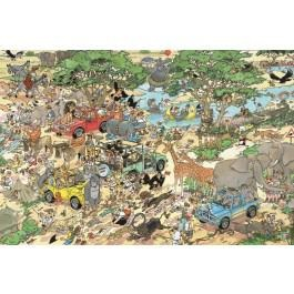 Jumbo Jan van Haasteren puzzel Safari 1500 stukjes