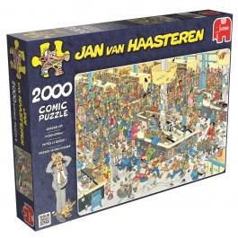 Jumbo Jan van Haasteren puzzel kassa erbij 2000 stukjes