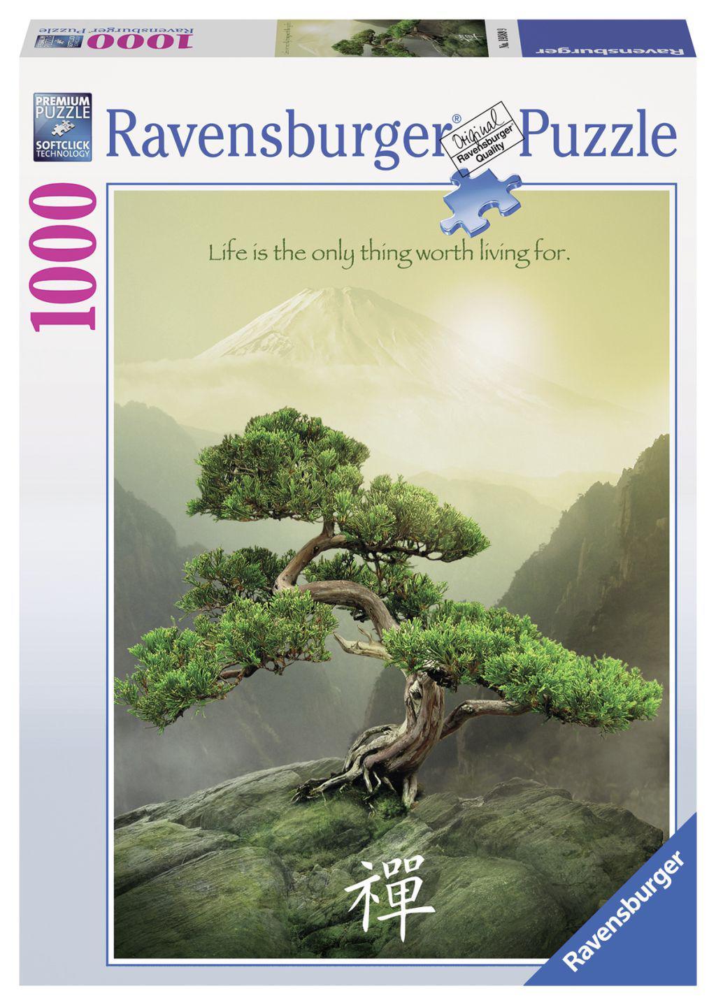 Ravensburger puzzel Zen 1000 stukjes