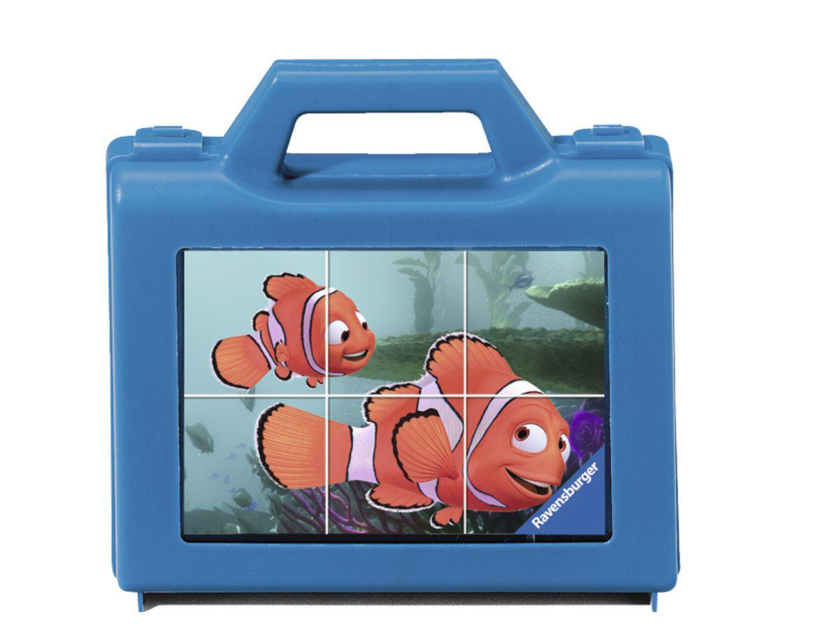 Ravensburger Blokkenpuzzel met Nemo op pad 6 stukjes vanaf 3 jaa